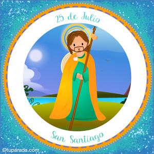Día de San Santiago, 25 de julio