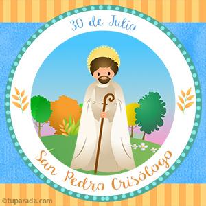 Día de San Pedro Crisólogo, 30 de julio