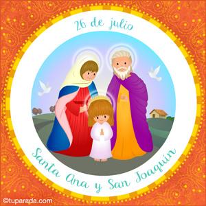 Día de Santa Ana y San Joaquín, 26 de julio