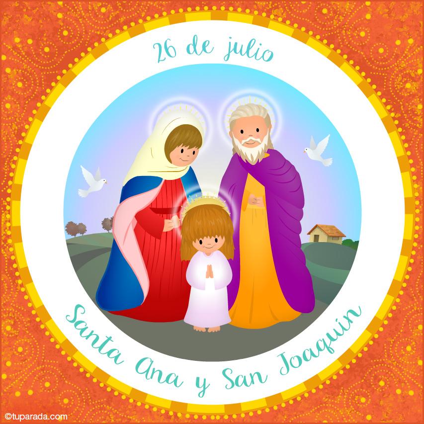 Ver fecha especial de Día de Santa Ana y San Joaquín
