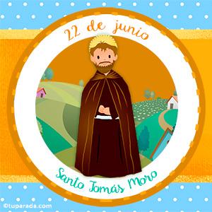 Día de Santo Tomás Moro, 22 de junio