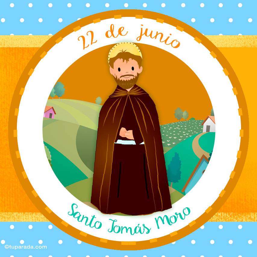 Ver fecha especial de Santo Tomás Moro, patrono de los políticos