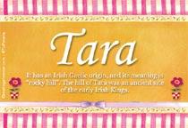 Name Tara