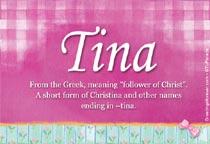 Name Tina