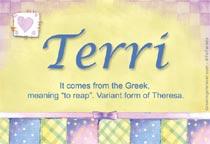 Name Terri
