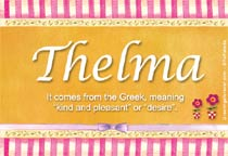 Name Thelma