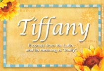 Name Tiffany