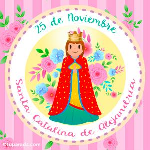 Día de Santa Catalina, 25 de noviembre