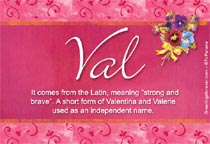 Name Val
