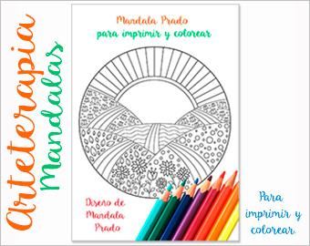 Arteterapia Mandala Prado