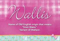 Name Wallis