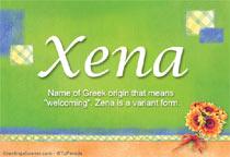Name Xena
