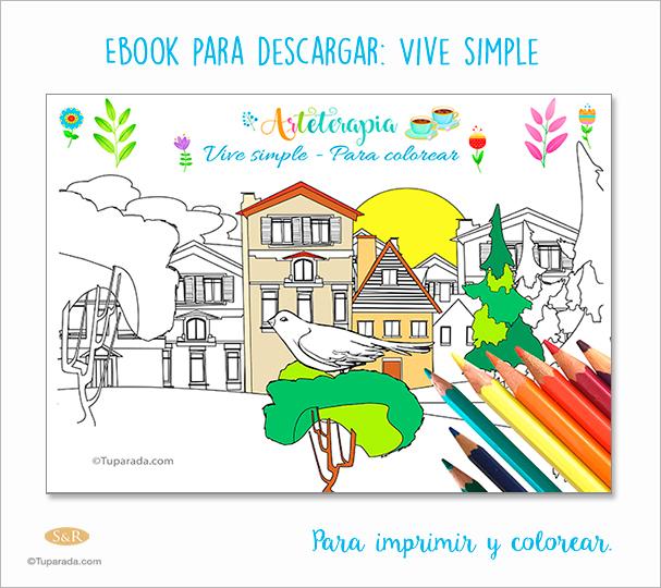 Ebook Arteterapia - Vive simple