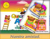 Tarjeta de Libros virtuales animados