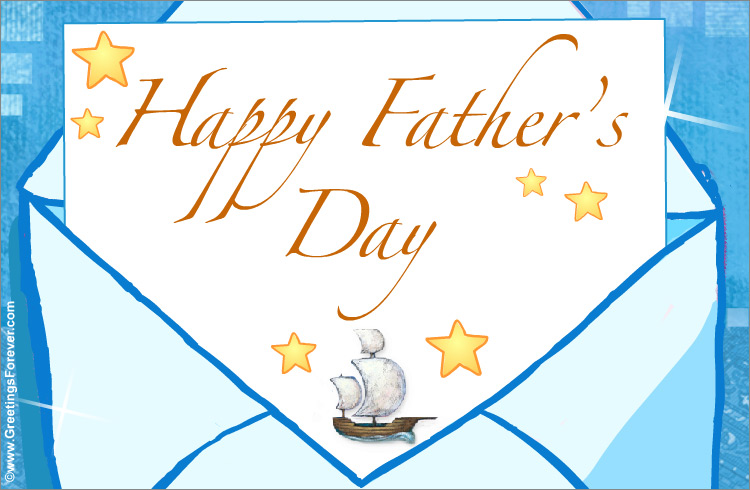 Ecard - Happy Father's Day.