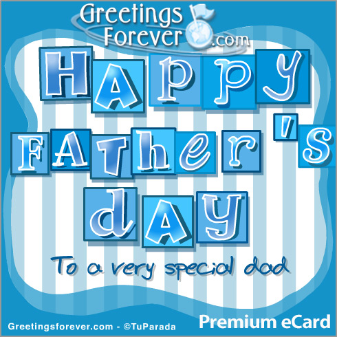 Ecard - Happy Father's Day