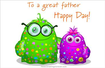 For a great father ecard