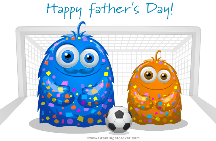 Ecard - Happy father's day from his son
