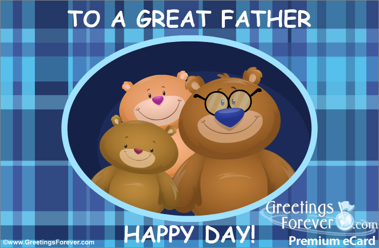 Ecard - Ecard for Father's Day