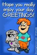 Greetings for children