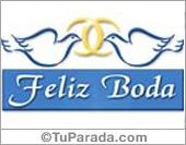 Tarjeta de Bodas