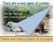 There are many types of couples