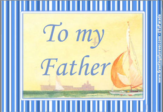 Ecard - To my father