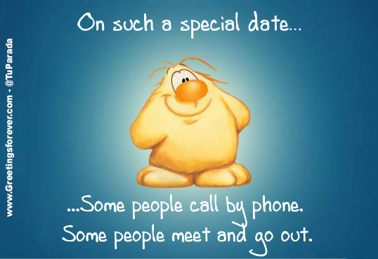 On such a special date...