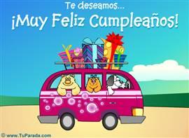 Te deseamos un Muy Feliz Cumpleaños