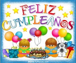 Feliz cumpleaños con festejo y gordis