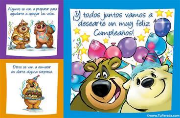 Muy Feliz Cumpleaños ecard