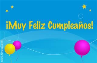 Feliz Cumpleaños Turquesa.