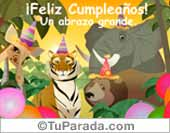 Feliz Cumpleaños desde la selva.