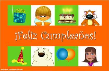 Feliz cumpleaños con sorpresas