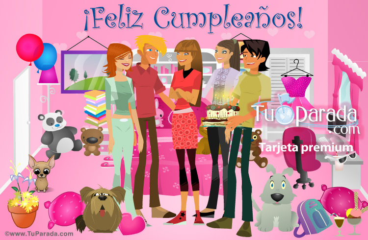 Tarjeta - Feliz cumpleaños para alguien especial