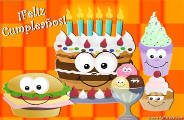 Comida rica para tu cumpleaños