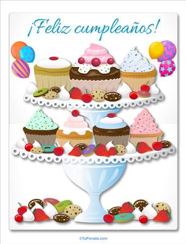 Sorpresa de cupcakes especiales
