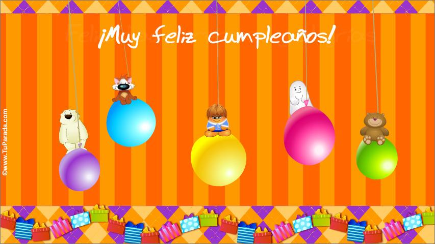Tarjeta - Tarjeta de cumpleaños con sorpresas