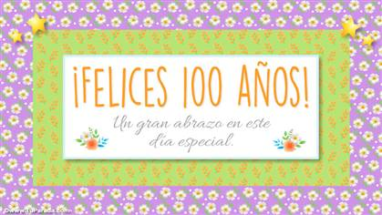 Felices 100 años