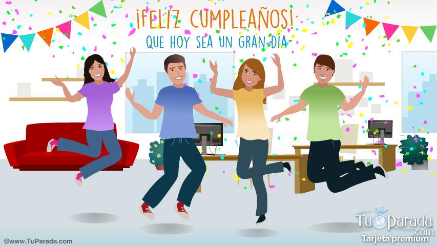 Tarjeta - Tarjeta Fiesta de cumpleaños