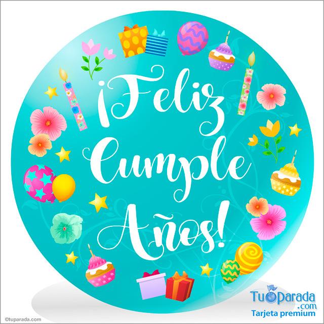 Tarjeta - Feliz cumpleaños especial