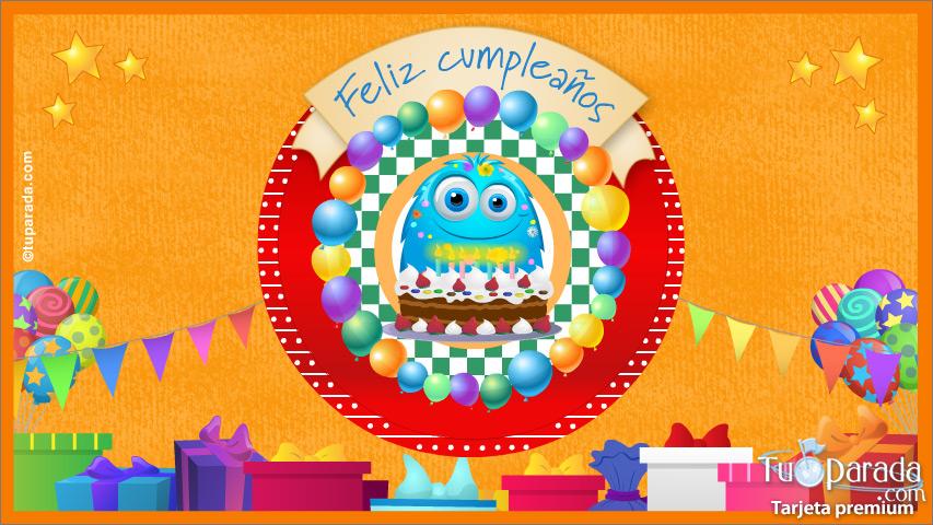 Tarjeta - Tarjeta de cumpleaños especial