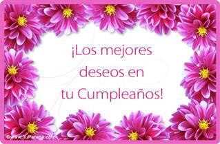 Los mejores deseos de cumpleaños