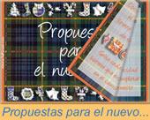 Tarjeta de Libros virtuales de felices fiestas.