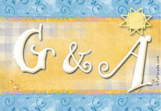 Tarjetas, postales: Inicial G