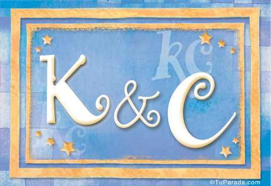 Tarjeta de Inicial K