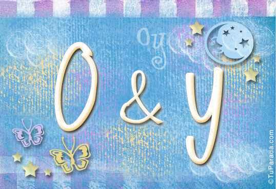 O & Y