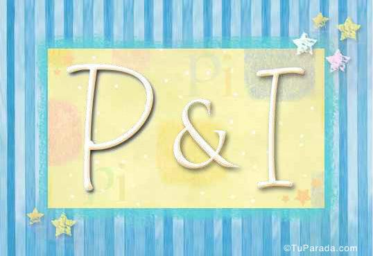 Tarjeta - P & I