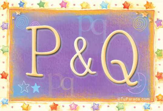 P & Q