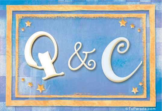 Tarjeta de Inicial Q